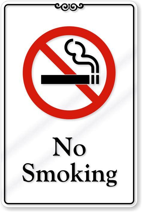 No Smoking Sign Buy | deluxe no smoking signs stylish no smoking office signs