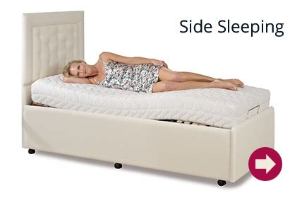 Side Sleeper Position by Bed Adjustable Bed Factory