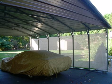 Metal Carports With Sides Weather Blocker By Carports Tnt Metal Carports