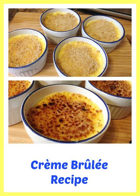 creme brulee recipe creme brulee recipe lady marielle