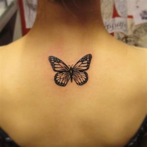 Butterfly Tattoo No Color | 41 best butterfly tattoo no color images on pinterest