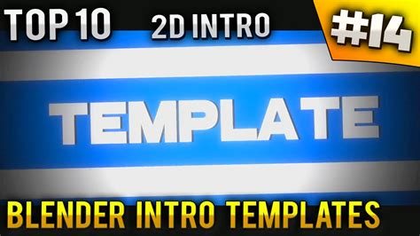 top 10 best motion graphics intro templates april 2017 top 10 free intro templates 28 images top 10 intro