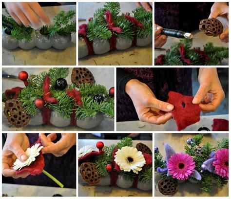 Zelf L Maken Boomstam by Kerststukjes Maken 4x Inspiratie Voor 2012 Christmaholic Nl