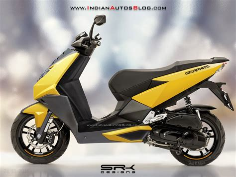 House Plans India Tvs Graphite Scooter Rendering