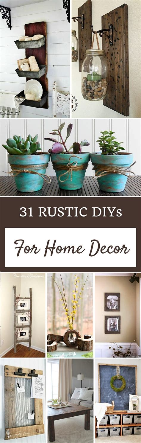 homemade home decorations rustic home decor ideas refresh restyle