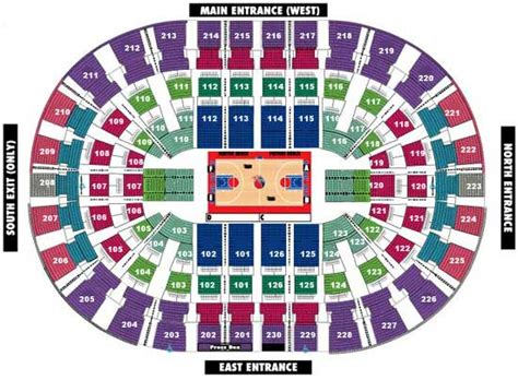 detroit pistons seating plan detroit pistons seating chart photo by getmetickets