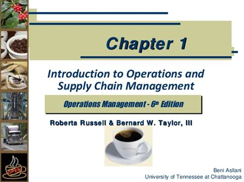 Production And Operation Management Ppt For Mba by Chapter 1 Introduction To Production Management
