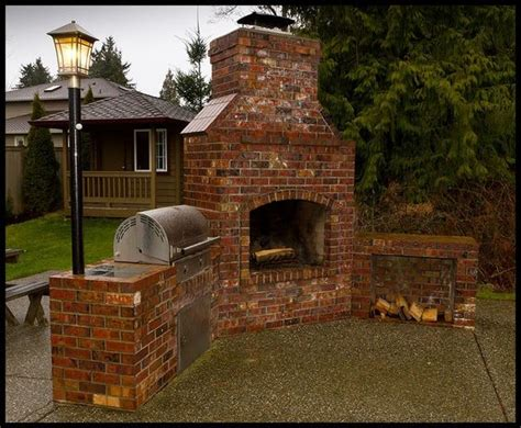 backyard brick bbq backyard brick barbeques beautiful fireplaces and backyards