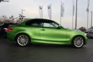 quot power green metallic quot bmw 120i coupe