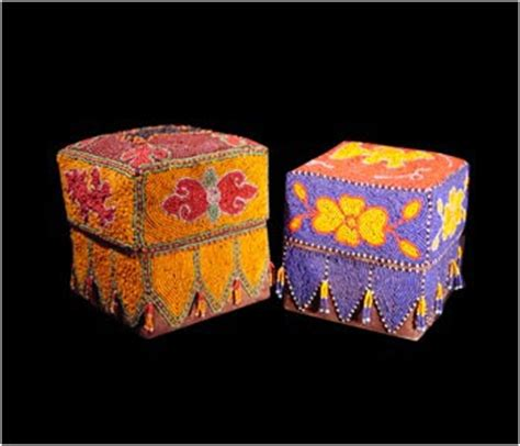 beaded boxes pulo seni beaded boxes