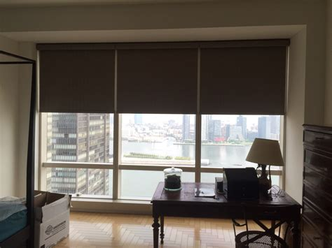 Electric L Shades by Ny City Blinds Motorized Electric Shades Blinds Curtains