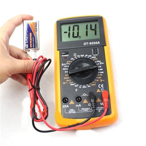 Multimeter Multitester Digital Szbj Dt9205a digit 225 lny multimeter dt9205a skvelydarcek sk