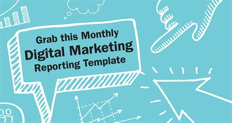 digital marketing report template 28 images digital