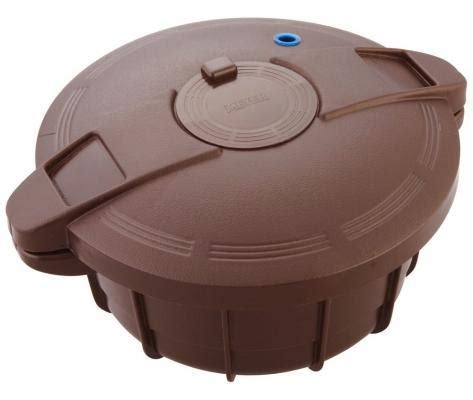 cucinare a vapore nel microonde pentola a pressione in micoonde