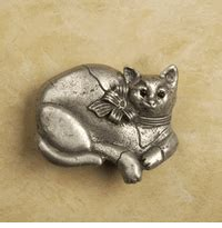 Cat Cabinet Knobs by Animal Theme Knobs Pulls