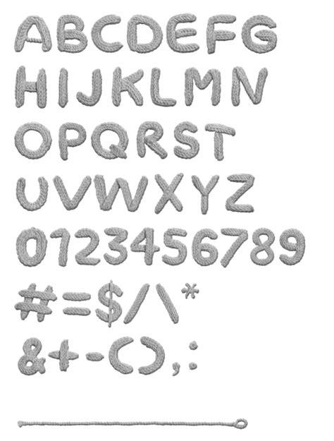 knitting pattern fonts knit font tony hird