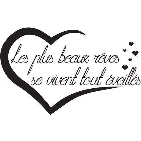 Les Plus Beaux Stickers by Sticker Citation Les Plus Beaux R 234 Ves Stickers Citations