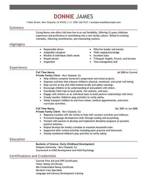 best 25 sle resume templates ideas on pinterest