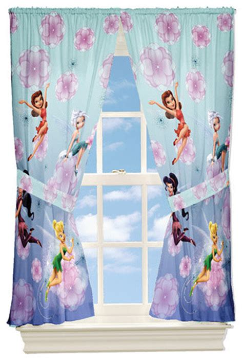 disney fairies looking glass panels contemporary