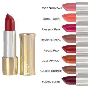 Jafra Royal Jelly Luxury Lipstick jafra lipstick swatches the of