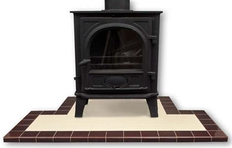 hearth fireplace tiles fireplace hearths in square plain glazed tiles fireplace