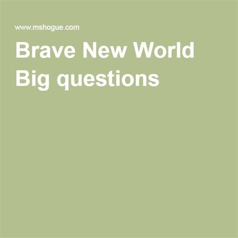 theme questions brave new world 71 best brave new world by huxley images on pinterest