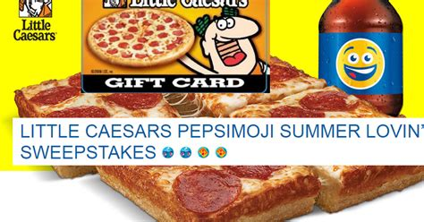 Little Caesars Gift Card - little caesars 25 gift card giveaway 25 winners grand prize 1 000 winner