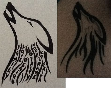 how to draw a wolf tattoo wolf tattoo step by step howling wolf drawing tattoo by vettalonie on deviantart