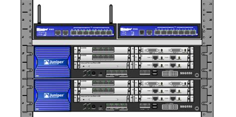 juniper networks visio stencils visioステンシル dlリンク集 システム構成図作成