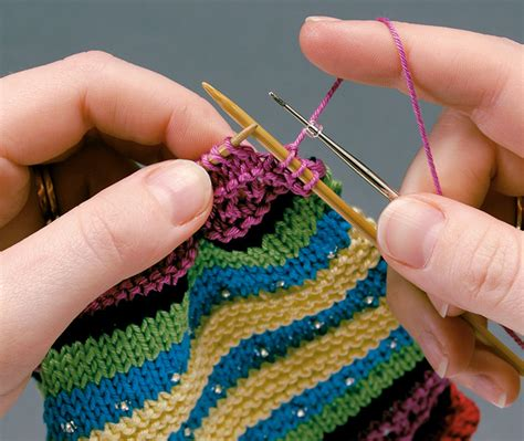 how to attach knitted pieces together knitting road together has norbury in stitches