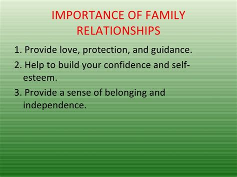 The Importance Of As A Family family 2