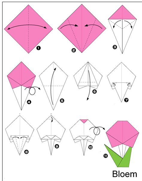 Origami Beginners - knutselen tijdens de winter huisje tuintje boompje