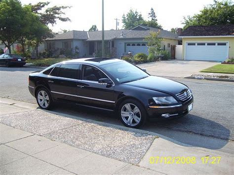 volkswagen phaeton for sale sell used 2004 volkswagen phaeton v8 140k miles 19