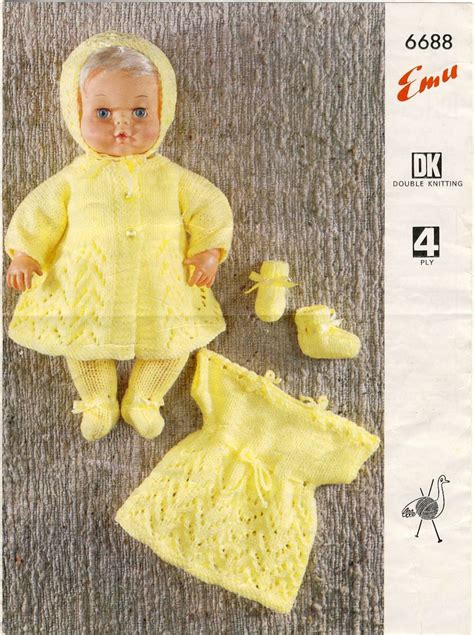 1000 Images About Tiny Tears Knitting Crochet Patterns