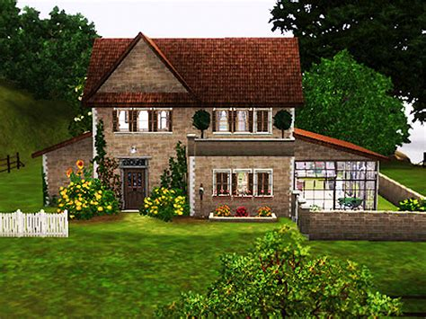 Sims 3 house summer country by simsrepublic on deviantart