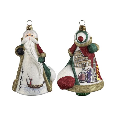 italy santa christmas ornament gump s