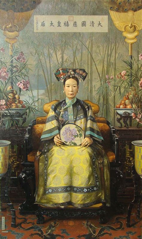 Forest Armchair File Hubert Vos S Painting Of The Dowager Empress Cixi