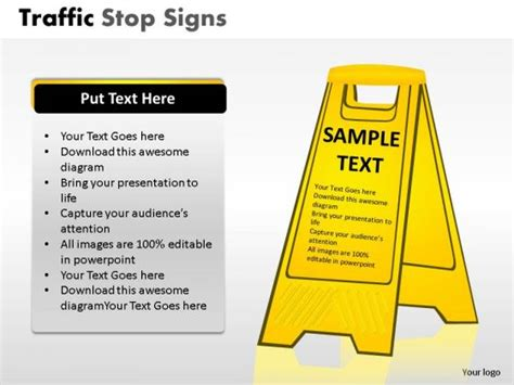 Christmas Road Safety Images Safety Presentation Template