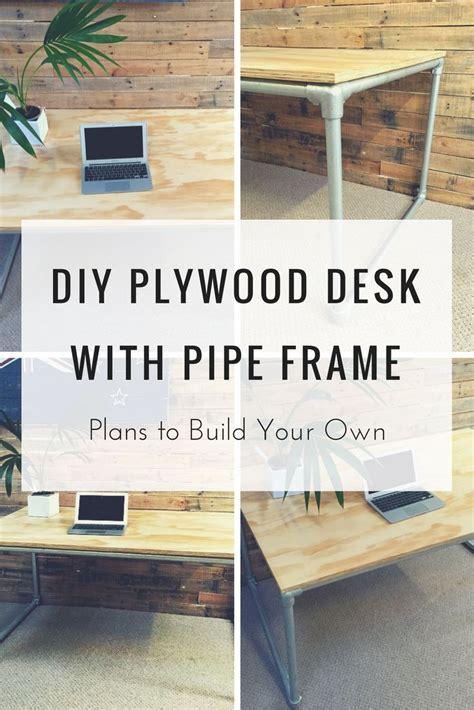 diy pipe desk plans 326 best pipe desks images on pinterest desks pipe desk