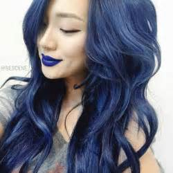 blue hair colors ombre hairstyles vpfashion