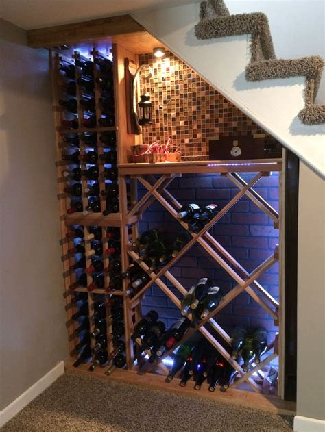 wine storage under stairs wine cellar under the stairs vines to wines pinterest