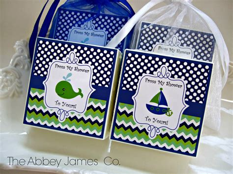 nautical theme favors baby boy shower favors nautical theme shower by abbeyjames
