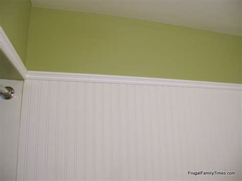 installing beadboard wallpaper how to install beadboard paintable wallpaper frugal
