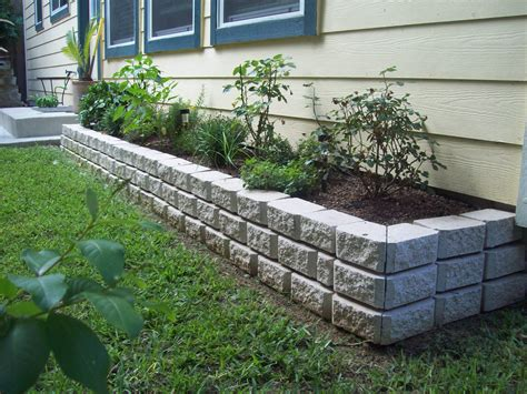 flower bed stones murphy s lawn flower bed installations