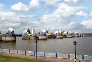 thames barrier north bank thames barrier from the south bank 169 des blenkinsopp