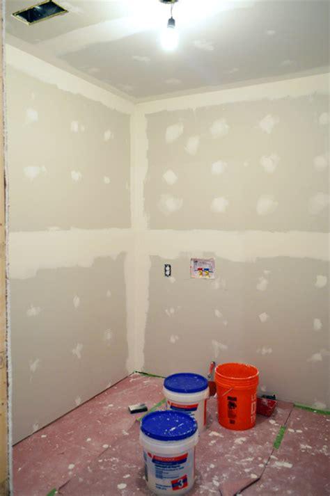 diy drywall mudding and taping insulating walls padding wallets house