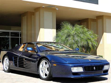 1994 512tr for sale 1994 testarossa 512 tr