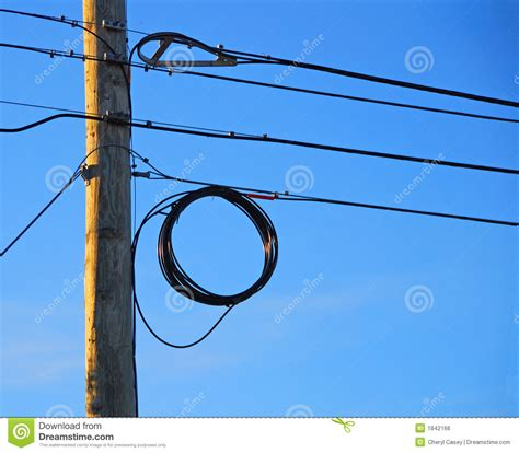 electric pole wires telephone pole and wires stock photo image of pole