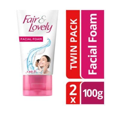 jual fair lovely fairness foam 100g pack