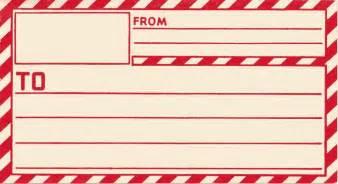 vintage christmas shipping label printable gift tags
